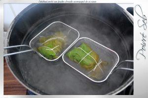 Cabillaud poché aux feuilles d'oseille préparation