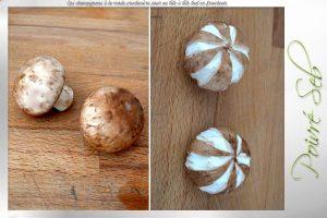 Les champignons à la mode printanière pour un tête à tête préparation