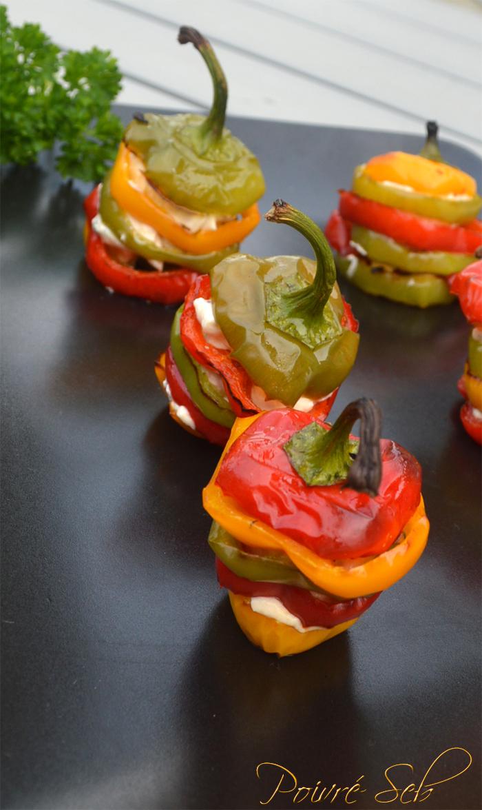 Mini Poivrons multicolores farcis-Verticale