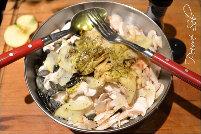 Salade fraîcheur, de Paris en Slovénie