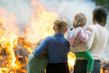 Причины пожара. Экспертиза