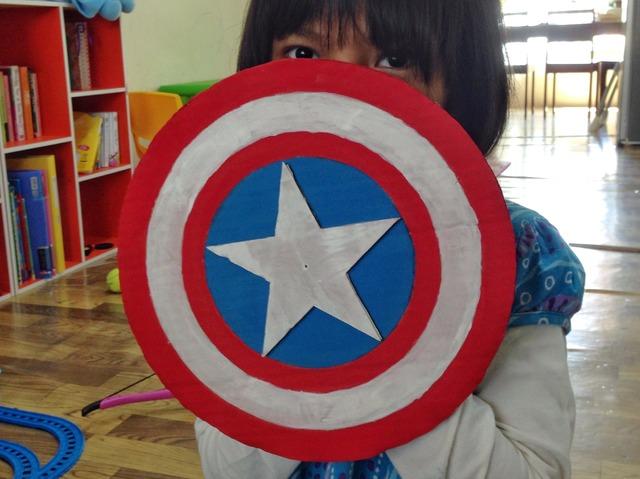 DIY Perisai Captain America