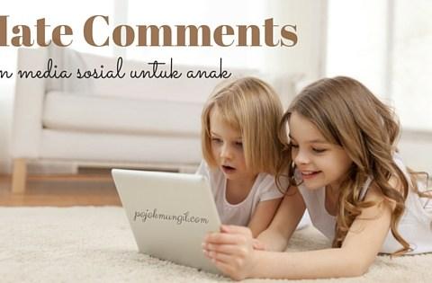 anak dan media sosial