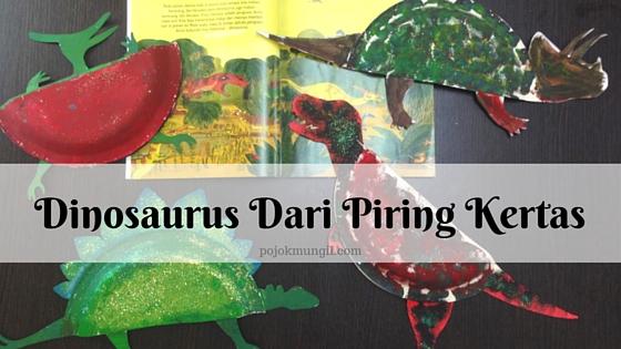 Dinosaurus Dari Piring Kertas