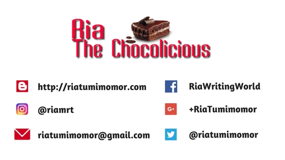ria tumimomor, ria the chocolicious, arisan link, blogger perempuan, lifestyle blog