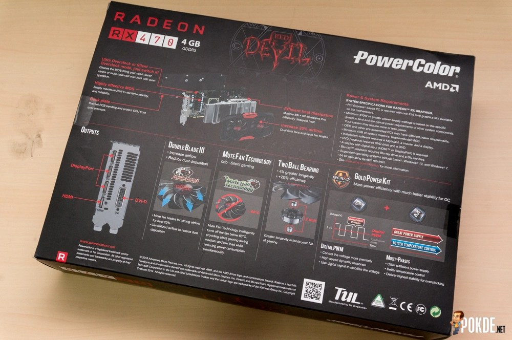 PowerColor Radeon RX 470 Red Devil review — when the Devil plays