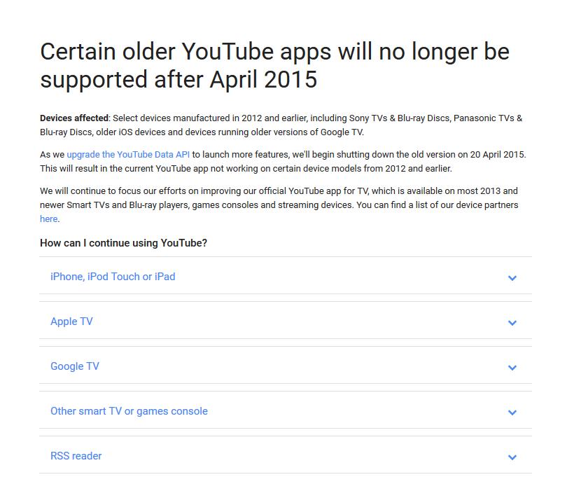 YouTube API update – Pokde