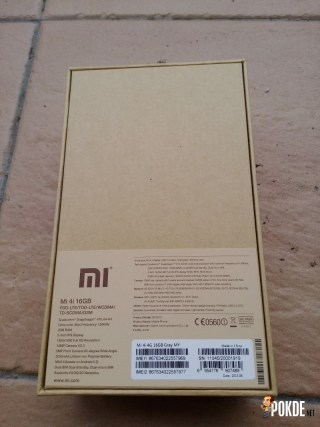 Mi4i packaging specifications