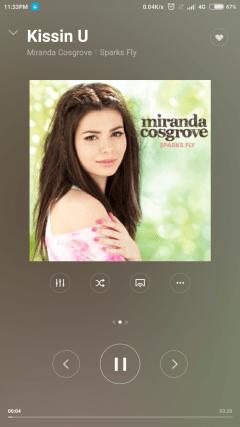 Mi4i music player