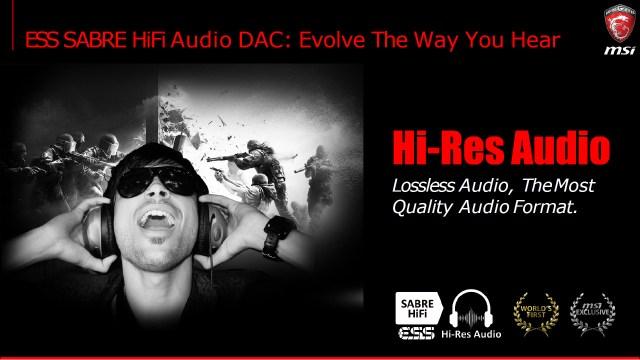 ESS Sabre HiFi audio DAC