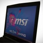 MSI GP62 screen side angle