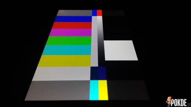 display test m2 4
