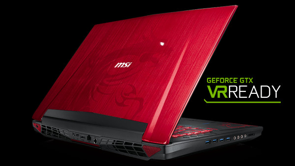 MSI GT72S Dragon VR