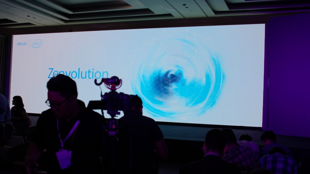 The Zenvolution is where Asus announces their conventional product line. Conventional as in non-gaming, daily use machines.