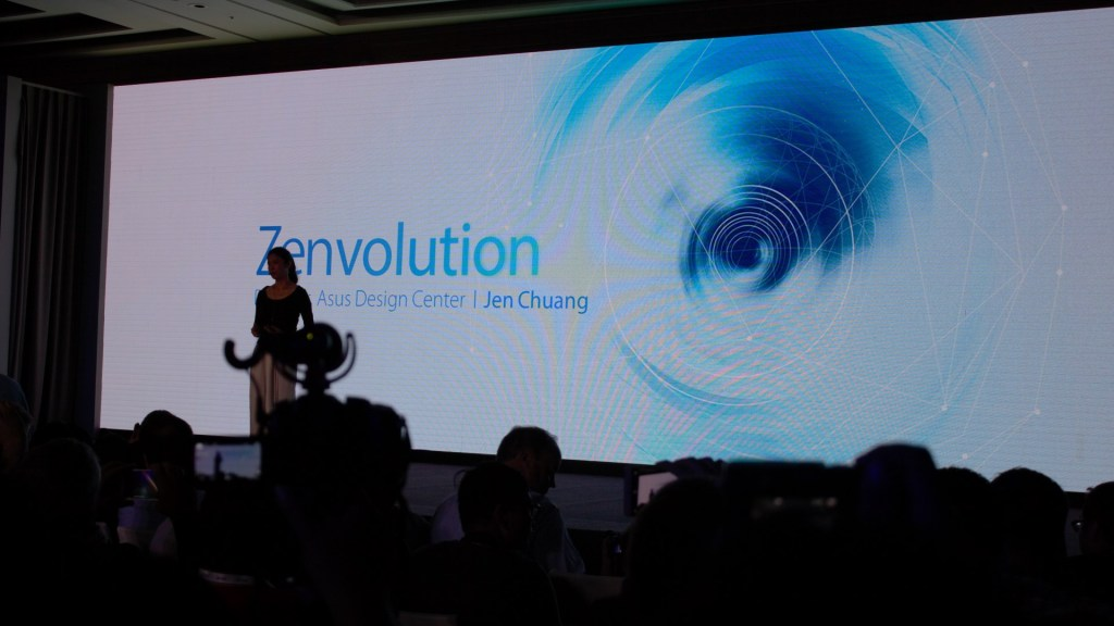 Let's move to the Zenfone 3. Jen Chuang, director of Asus Design Centre takes over.