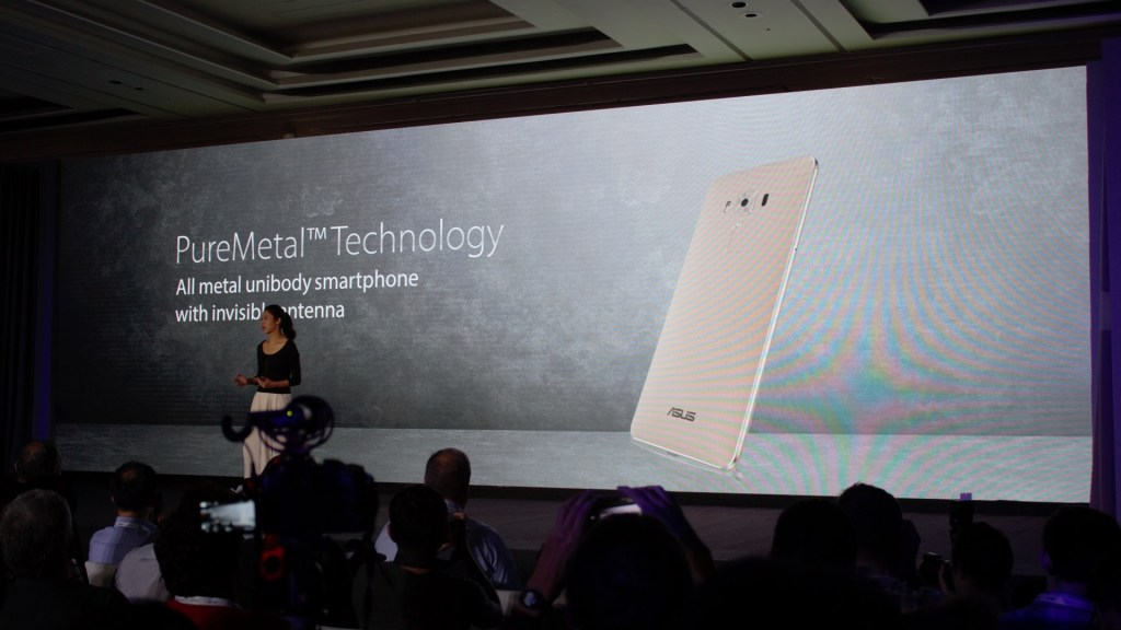 "Asus calls it ""PureMetal Technology"""