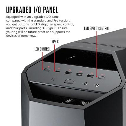 MasterCase Maker 5 Infographic - IO Panel
