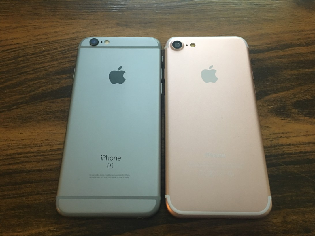 Iphone  Compared To S Plus