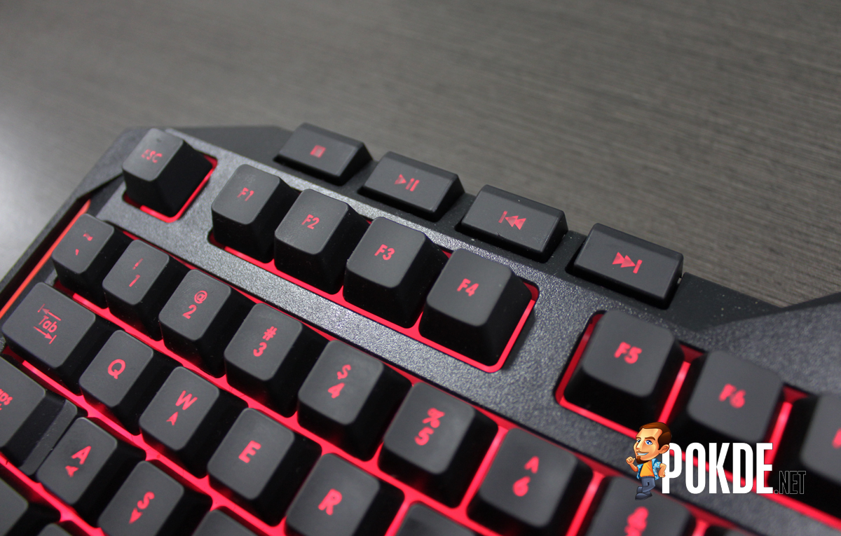 Asus Cerberus Gaming Keyboard Review Spill Resistant