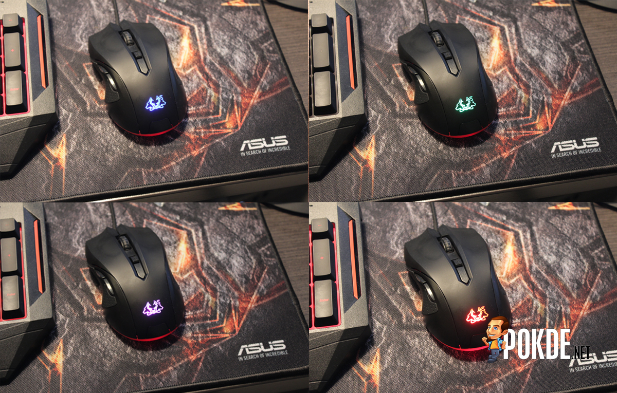 eeb04d09a90 ASUS Cerberus gaming mouse and mousepad review – Pokde