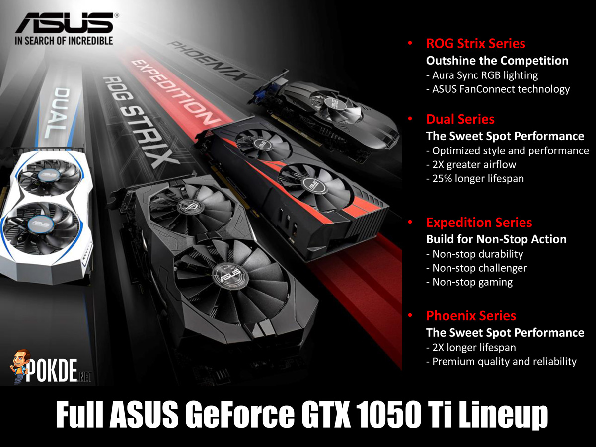 Asus Geforce Gtx 1060 Cards Are Here In Malaysia Price Starts From Rm - Asus expidition gtx 1050ti 21