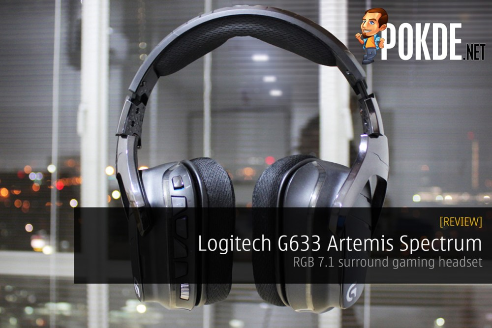 Logitech G633 Artemis Spectrum, RGB 7 1 surround gaming
