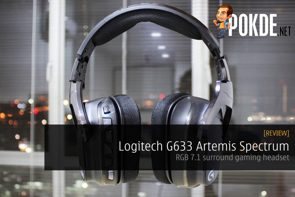 Logitech G633 Artemis Spectrum, RGB 7 1 surround gaming headset