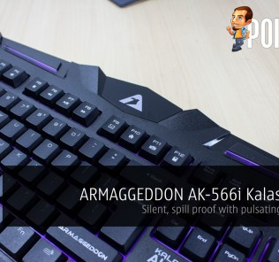 ARMAGGEDDON AK-566i Kalashnikov Gaming Keyboard review 27