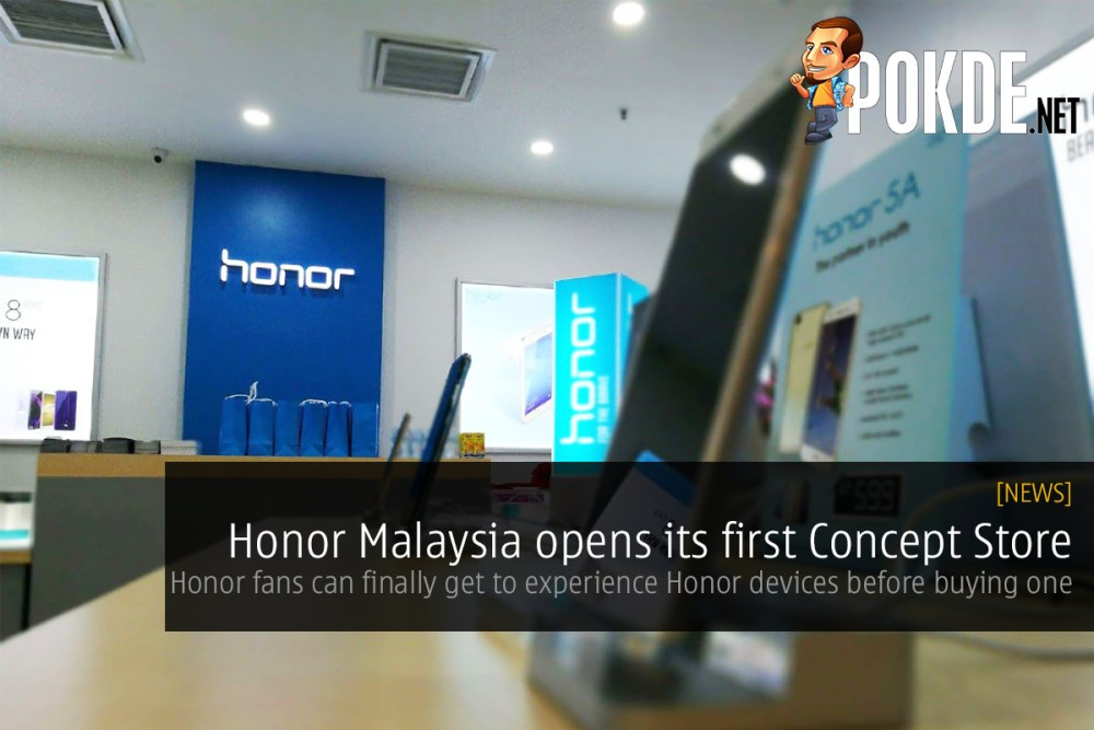 Honor Malaysia opens its first Concept Store – Pokde