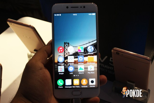 Vivo V5 during the launch event