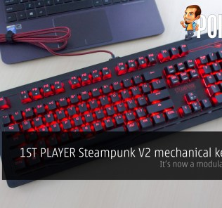 1ST PLAYER Steampunk V2 mechanical keyboard review — it's now modular 23