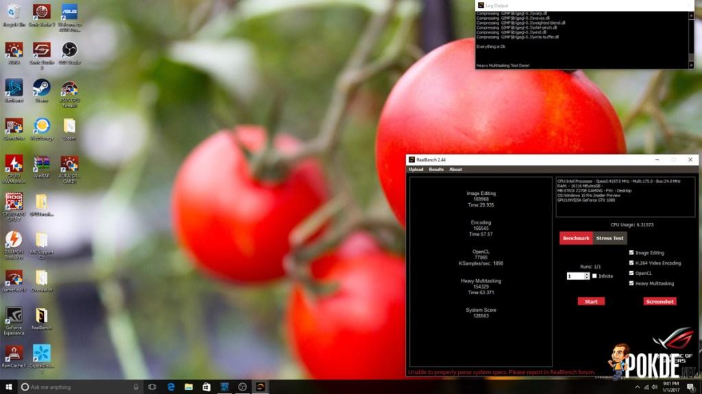 ASUS ROG Strix Z270E Review + Intel Core i7-7700K Kaby Lake