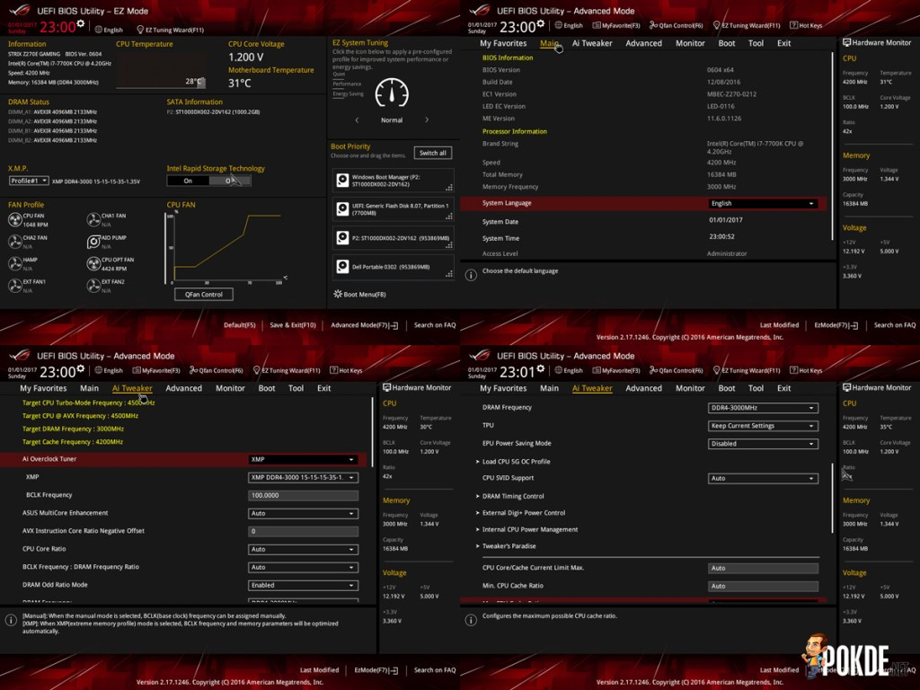 ASUS ROG Strix Z270E Review + Intel Core i7-7700K Kaby Lake CPU 36