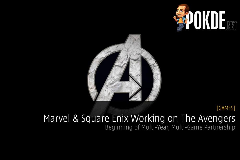 marvel square enix avengers project partnership