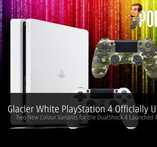 PlayStation 4 PS4 Glacier White