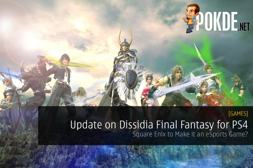 dissidia final fantasy ps4 arcade