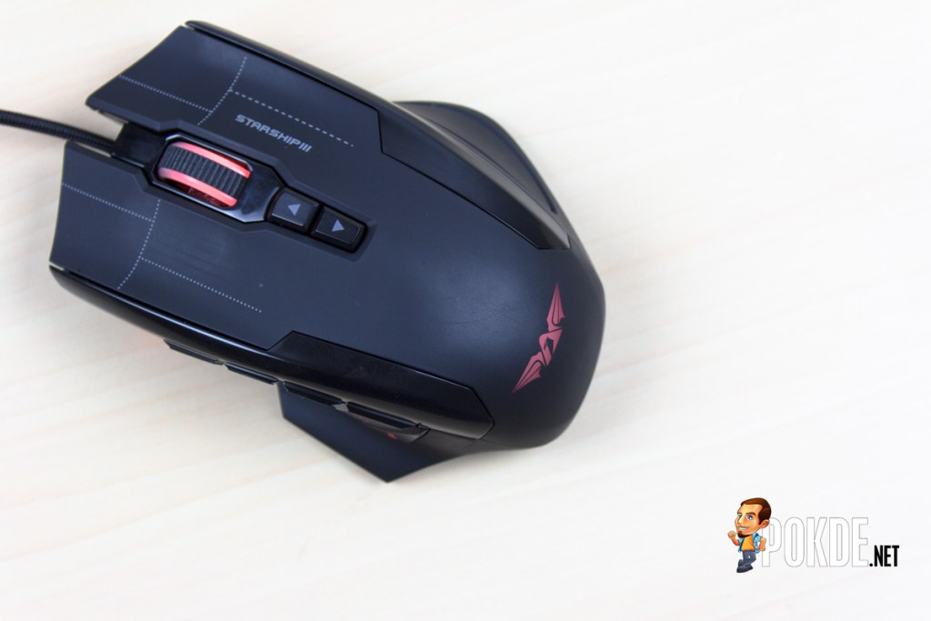 ARMAGGEDDON NRO-5 STARSHIP III 2017 Edition Gaming Mouse Review - Improved design and performance 46