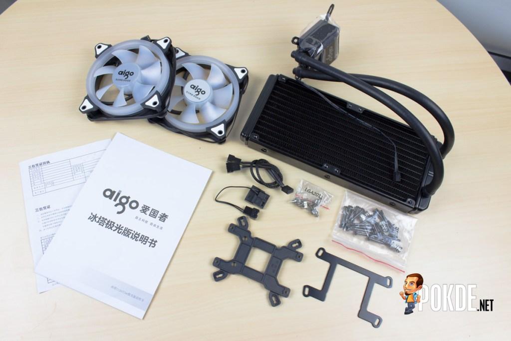 Aigo Serac T240 AIO Liquid Cooler Review - Bigger radiator, better heat dissipation 23