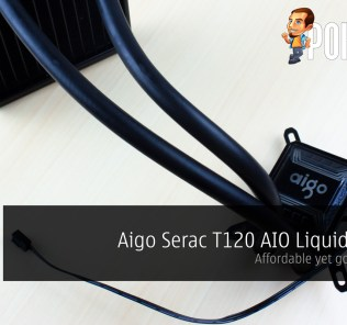 Aigo Serac T120 AIO Liquid Cooler Review — affordable yet good looking 44