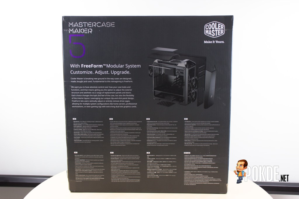 MasterCase Maker 5 by Cooler Master case review — decked out 29