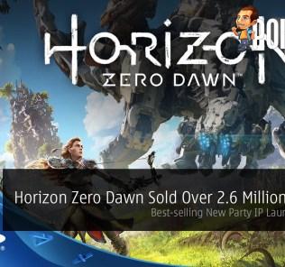 horizon zero dawn 2.6 million copies sold
