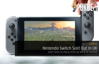 nintendo switch sold out in UK