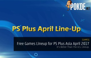 PS Plus Asia April 2017