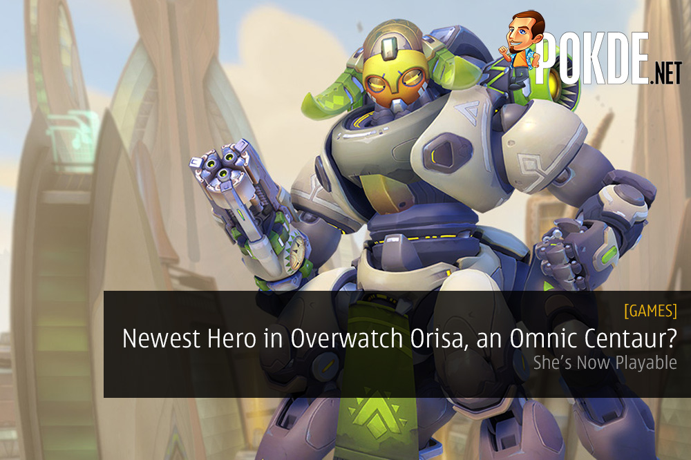 The Newest Hero in Overwatch, Orisa, is an Omnic Centaur? She's Now