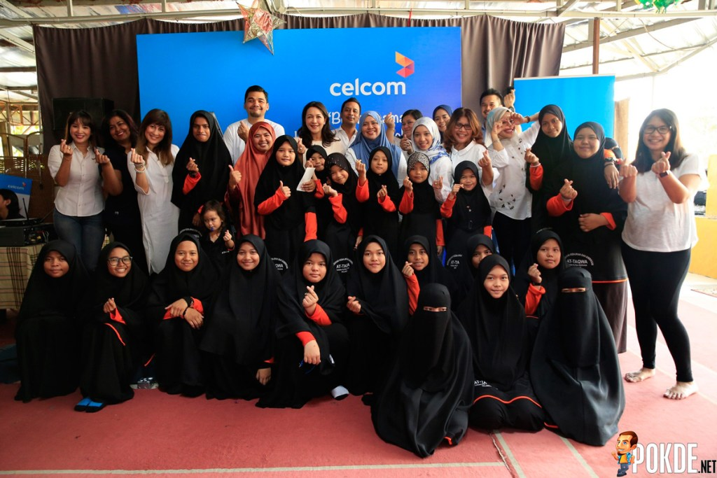 Celcom Brings Cheer To Charitable Homes - Everyone Needs A Helping Hand 27