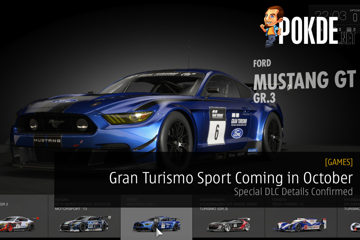 Gran Turismo Sport Coming In October Special DLC Details Confirmed Pokde