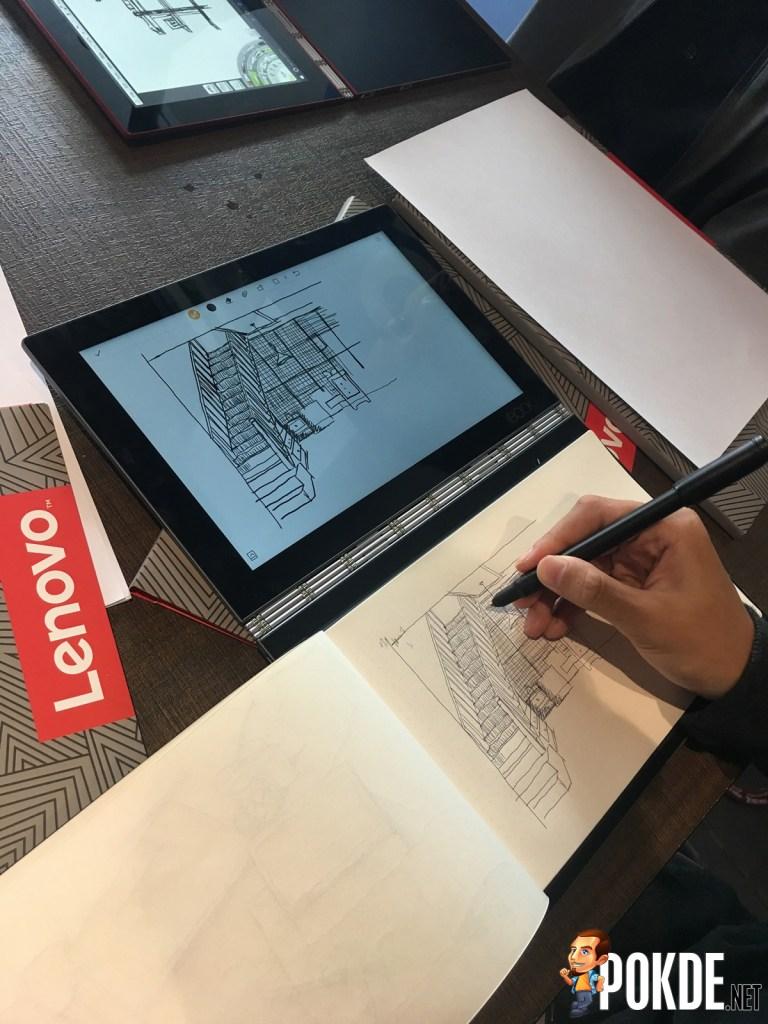 Lenovo's Workshop With KL SketchNation - Demos Yoga Book For Local Artists! 27