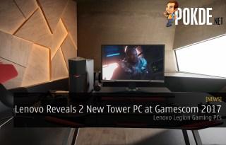 Lenovo Legion Y520 Y720 Tower PC Gamescom 2017