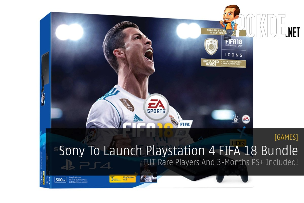 Sony To Launch Playstation 4 Fifa 18 Bundle Pack Fut Rare