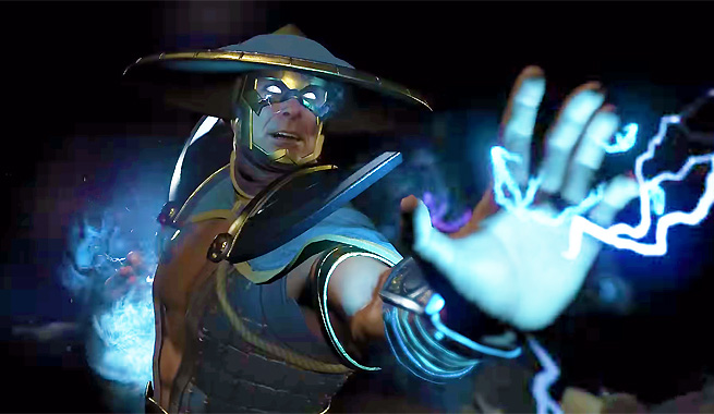 injustice 2 raiden DLC crossover